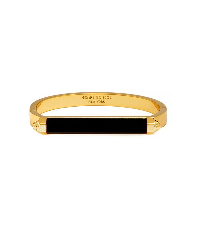 Henri Bendel Chelsea Semi Precious Bangle Bracelet