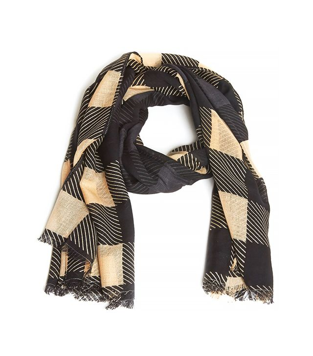 Rag & Bone Buffalo Check Scarf