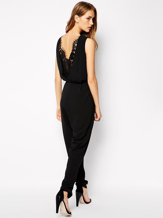 Supertrash Jumpsuit with Lace Detail Back