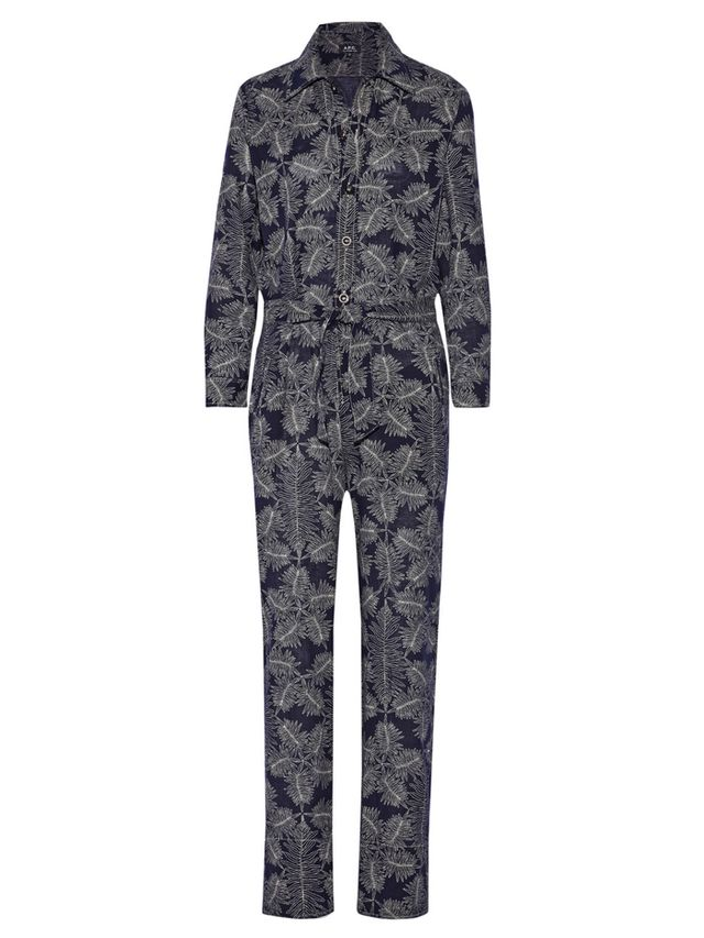 A.P.C. Atelier de Production et de Création Molly Printed Cotton Jumpsuit