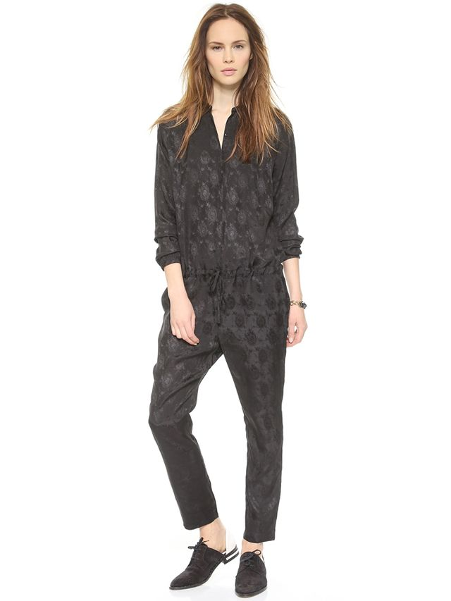 Maison Scotch Long Sleeve Jumpsuit