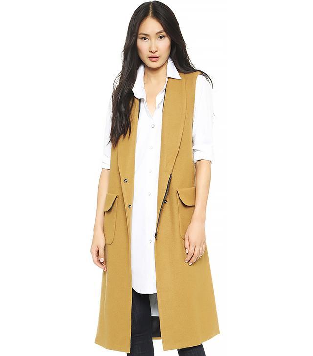 Rachel Comey Memento Sleeveless Coat