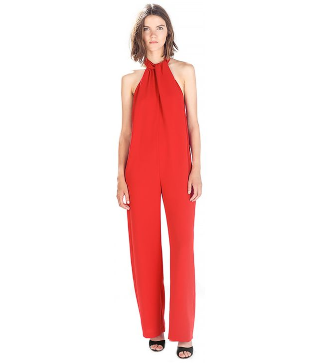 Zara Jumpsuit With Bow At The Back