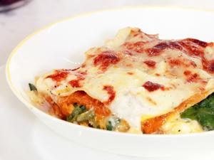 Rachael Ray's Pumpkin Lover's Meatless Lasagna