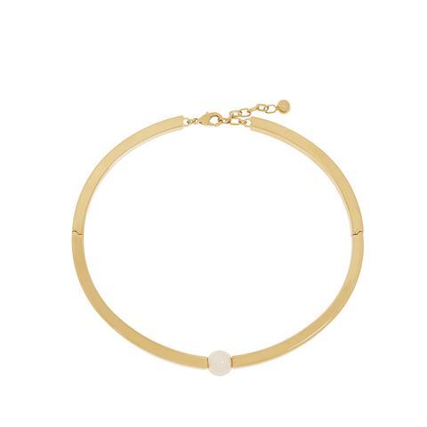 Darcey Gold-Plated Swarovski Pearl Choker ($