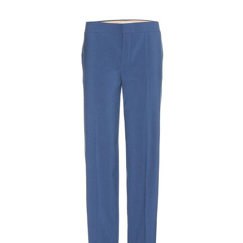 Wool-Blend Trousers