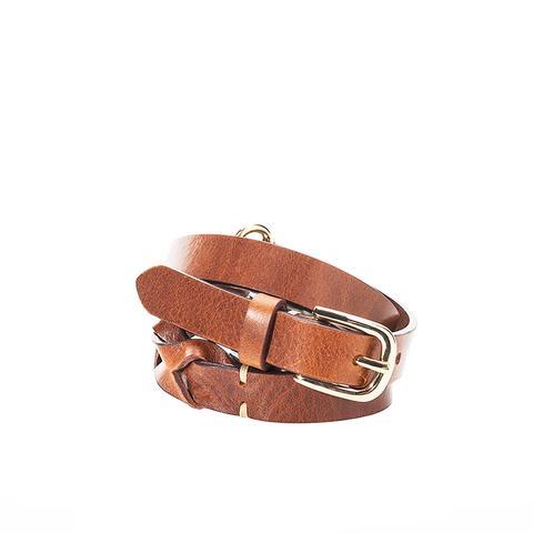 Braided Suede Belt