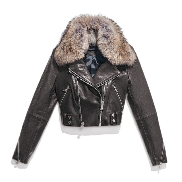 Shop It: Andrew Marc Beth Moto Jacket