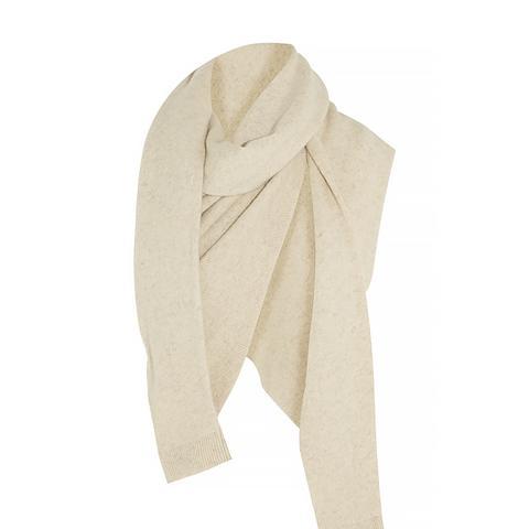 Asymmetric Yak And Merino Wool-Blend Scarf