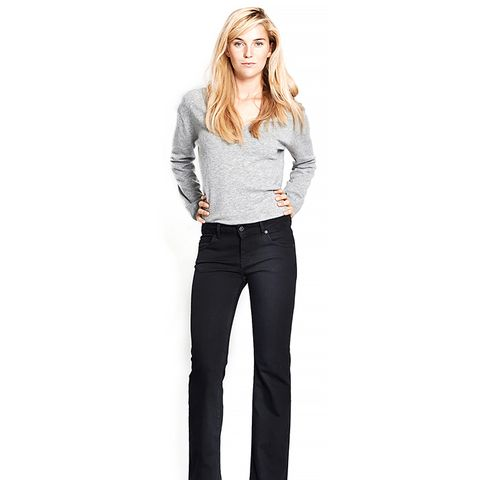 Frisca Flared/Low Black P 1670 Jeans