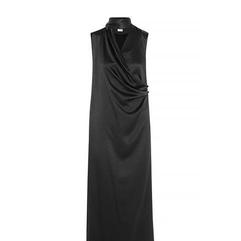 Woven Silk-Blend Tunic