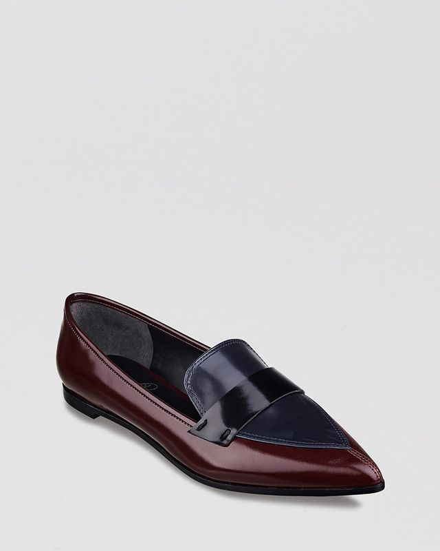 Ivanka Trump Zamor Pointed Toe Loafers