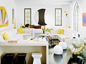 Shop the Room: A Lemony Fresh Lounge