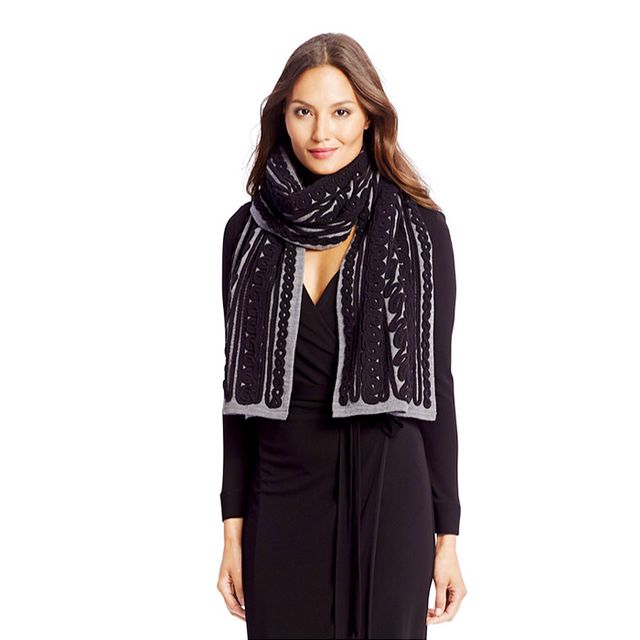 Diane von Furstenberg Wool Knit Scarf