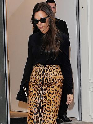 Victoria Beckham's Purr-Fect Skirt