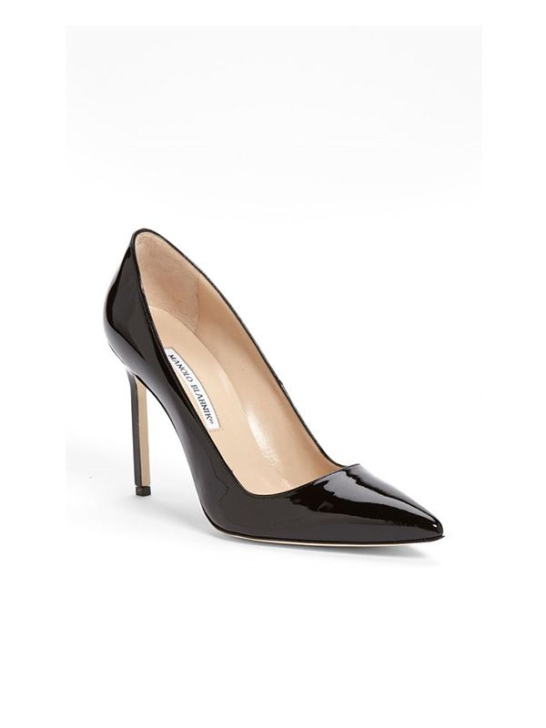 Manolo Blahnik BB Pointy Toe Pumps