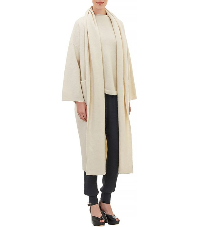 Lauren Manoogian Felted Shawl Collar Coat
