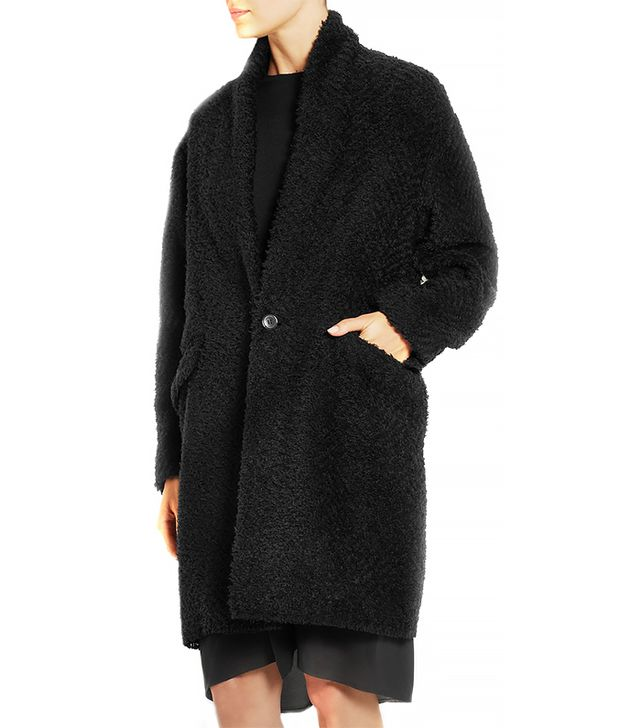 Isabel Marant Gabirel Herringbone Boucle Coat