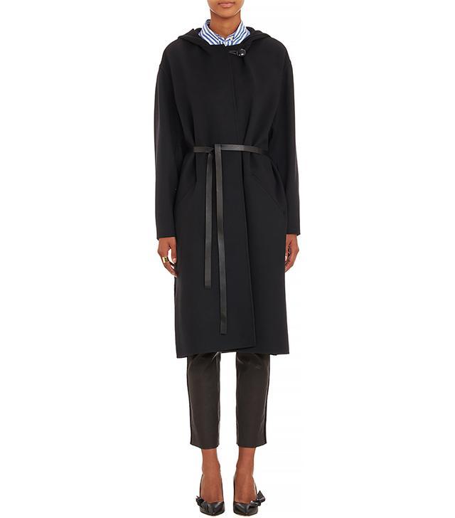 Isabel Marant Hooded Hacene Cocoon Coat