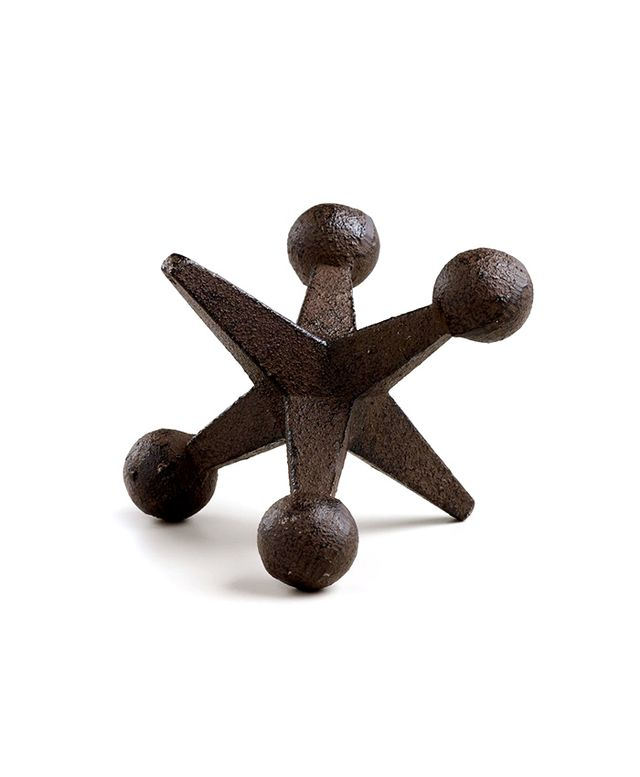 World Market Cast Iron Jack Doorstop