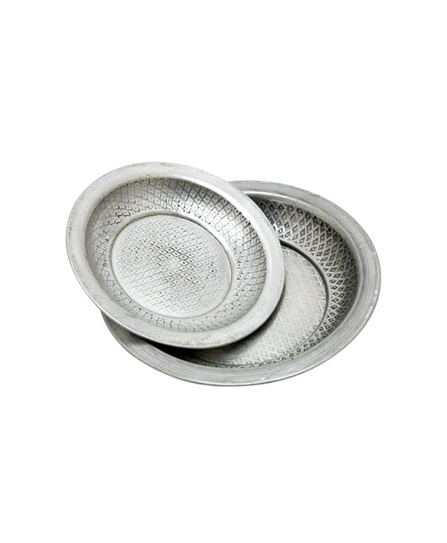 Jayson Home Mansour Silver Dishes