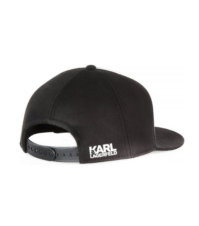 Karl Lagerfield Number 7 Baseball Cap