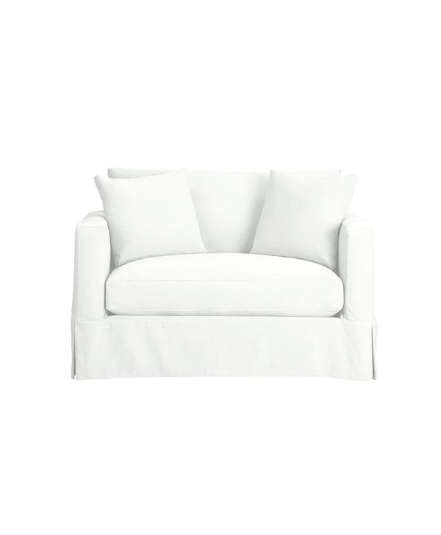 Crate and Barrel Willow Twin Sleeper Sofa