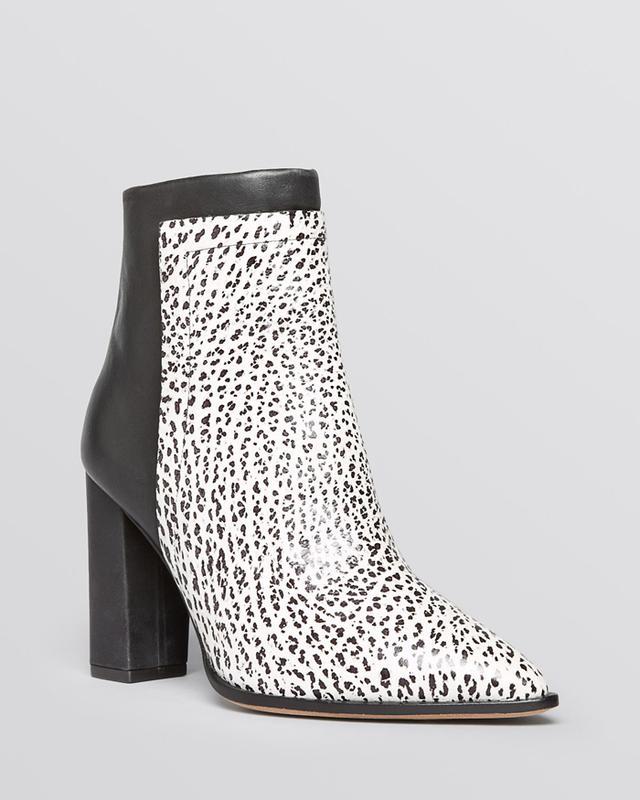 Loeffler Randall Mercer Block Heel Boots