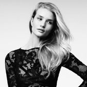 Rosie Huntington-Whiteley In 5 Sexy Black Dresses For Vogue Turkey