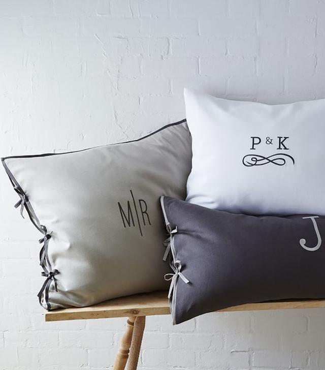 Linen Cotton Duvet Cover and Shams in Slate