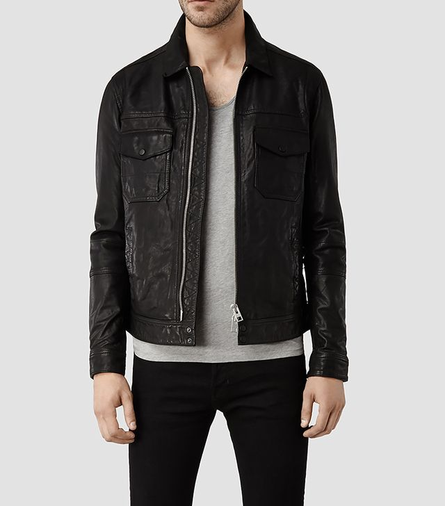 All Saints Morson Leather Jacket