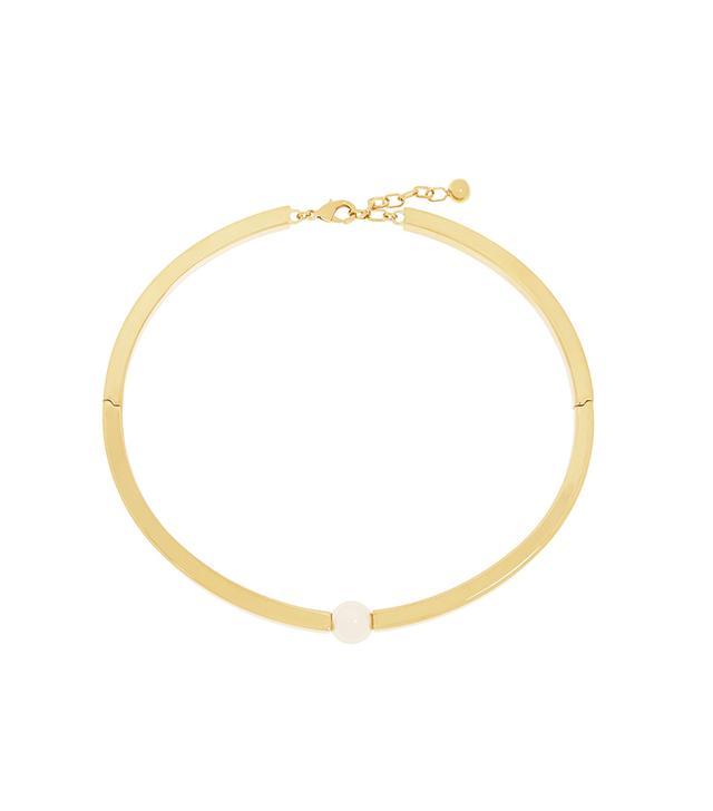 Chloé Darcey Gold-Plated Swarovski Pearl Choker