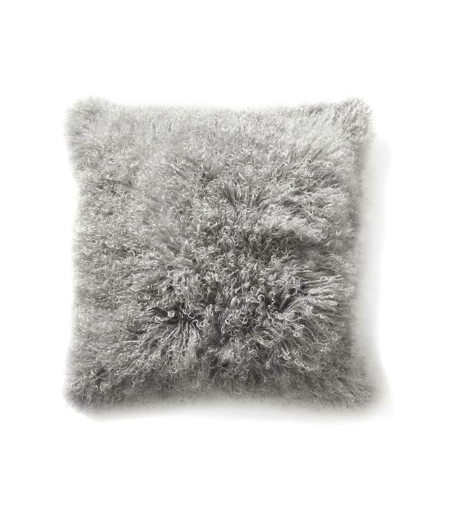 West Elm Mongolian Lamb Pillow Cover