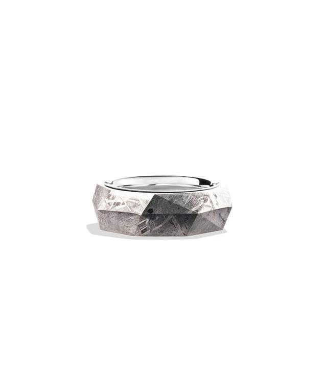 David Yurman Meteorite Band Ring