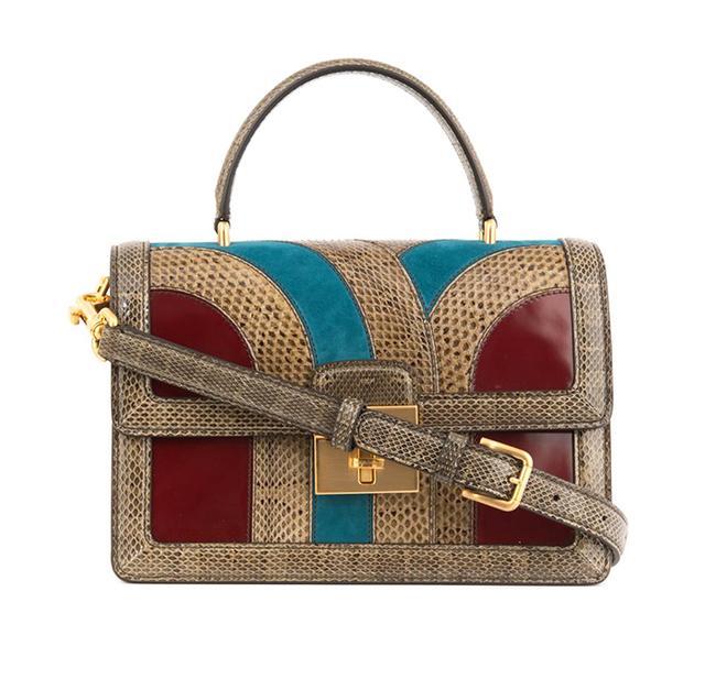 Dolce & Gabbana Rosalina Snakeskin Bag