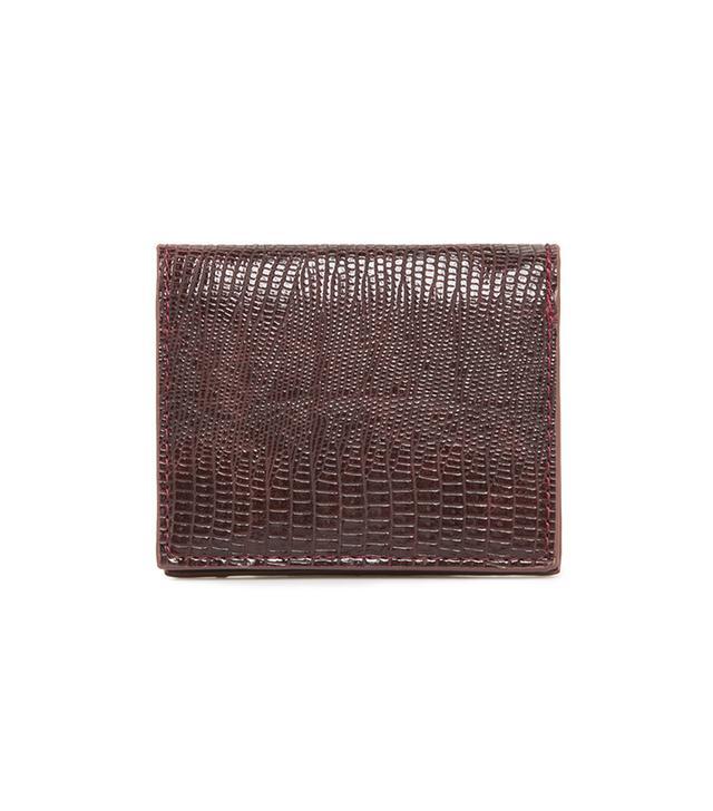 Violeta by Mango Croc-Effect Cardholder