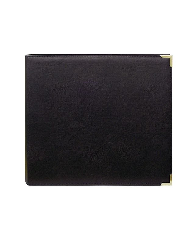 Overstock Black Memory Book