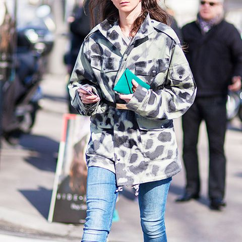 Outfit Combo: Jeans + Military-Inspired Coat