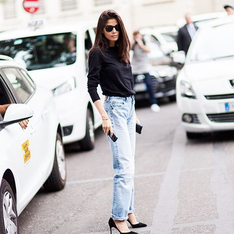 Outfit Combo: Jeans + Long-Sleeve Top