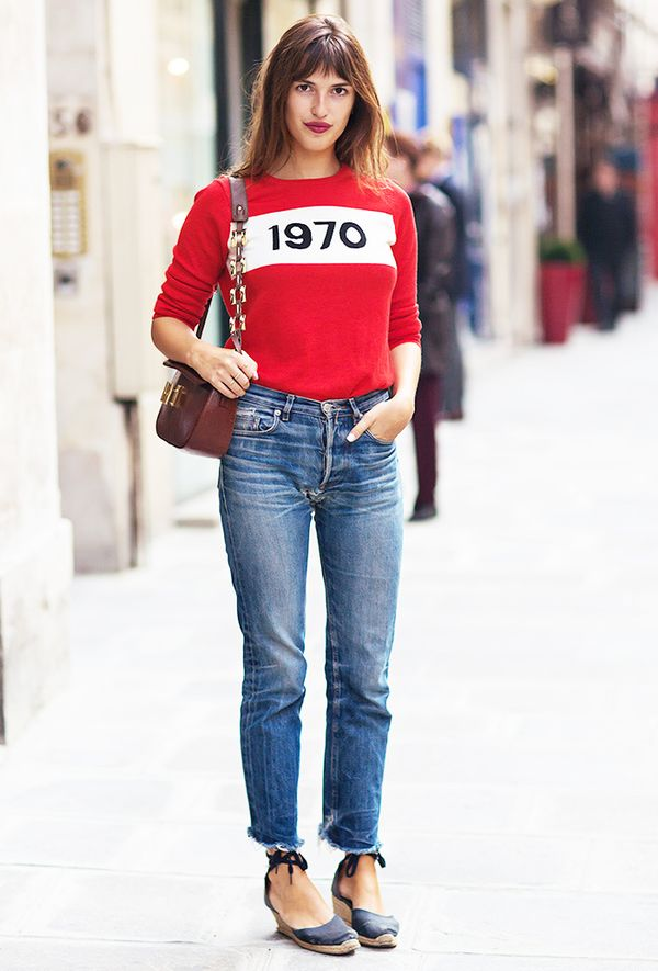 Outfit Combo: Jeans + Graphic Sweater