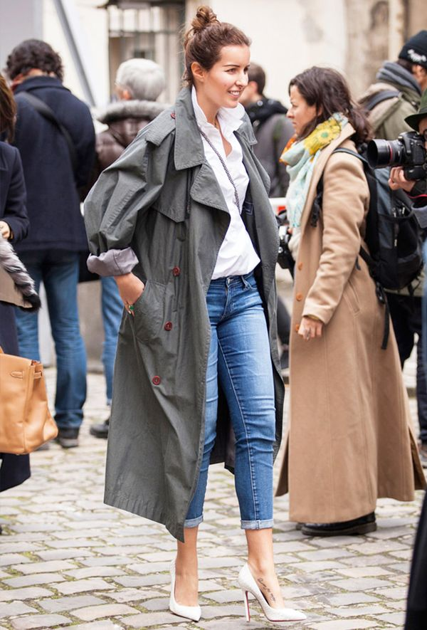 Outfit Combo: Jeans + Trench Coat