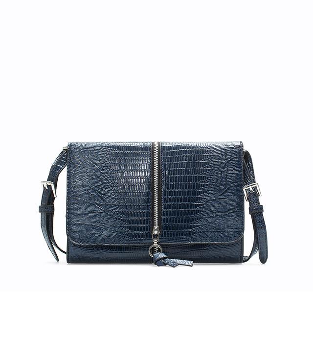 Zara Messenger Bag With Zip
