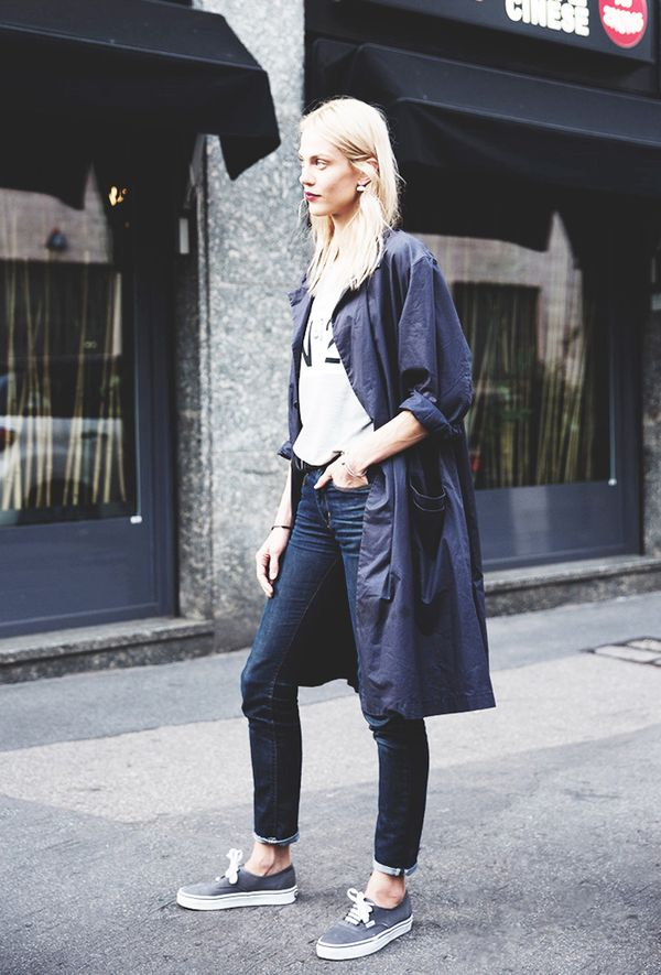 Outfit Combo: Jeans + Oversized Black Jacket