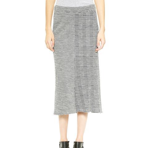 Chadwick Pleated Knit Skirt