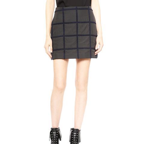 Grid Miniskirt