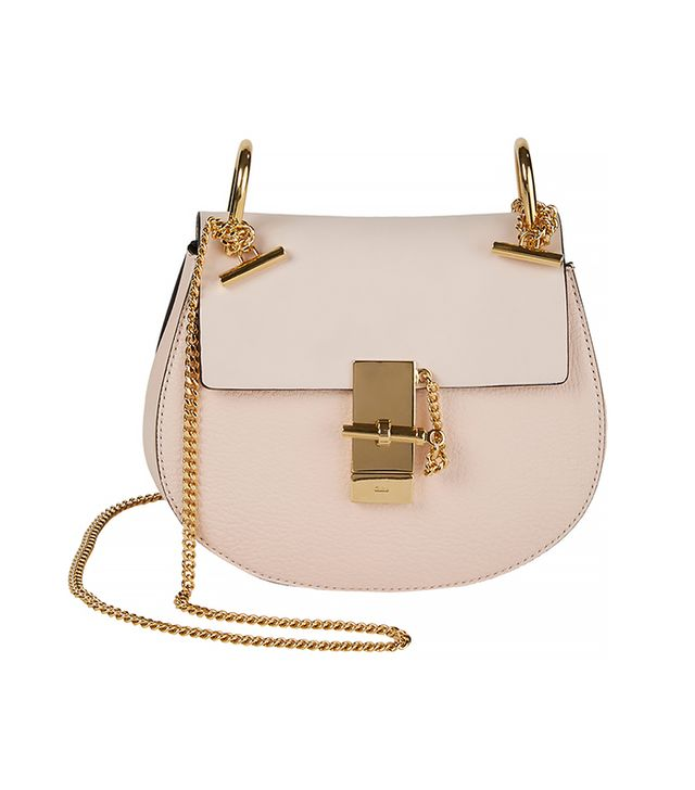 Chloé Drew Mini Leather Shoulder Bag