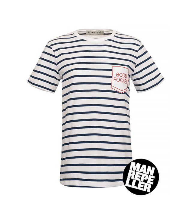 Man Repeller x Etre Cecile Boob Pocket T-Shirt