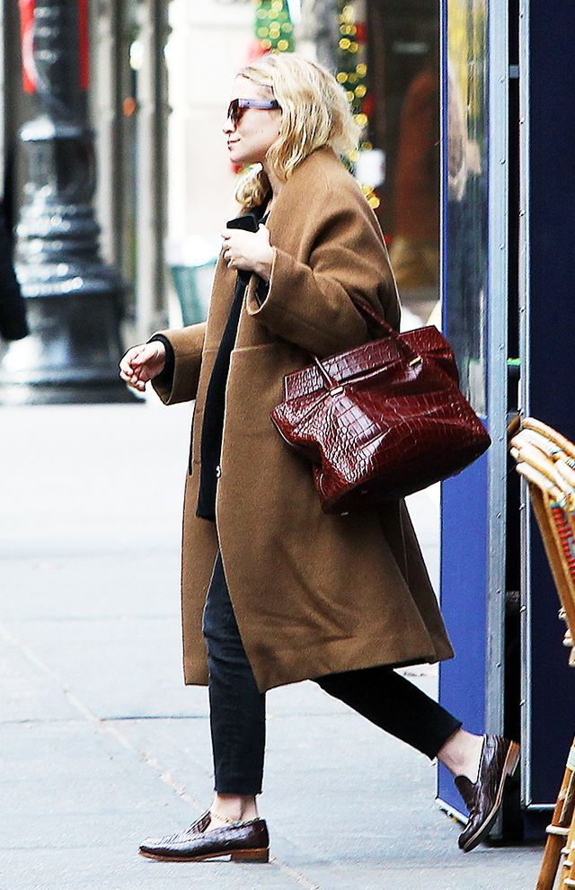 The Olsen Twin Guide To Fall Dressing Whowhatwear