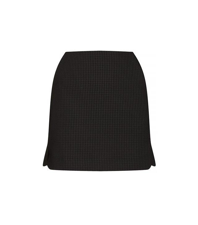 Topshop Waffle Texture Pelmet Skirt