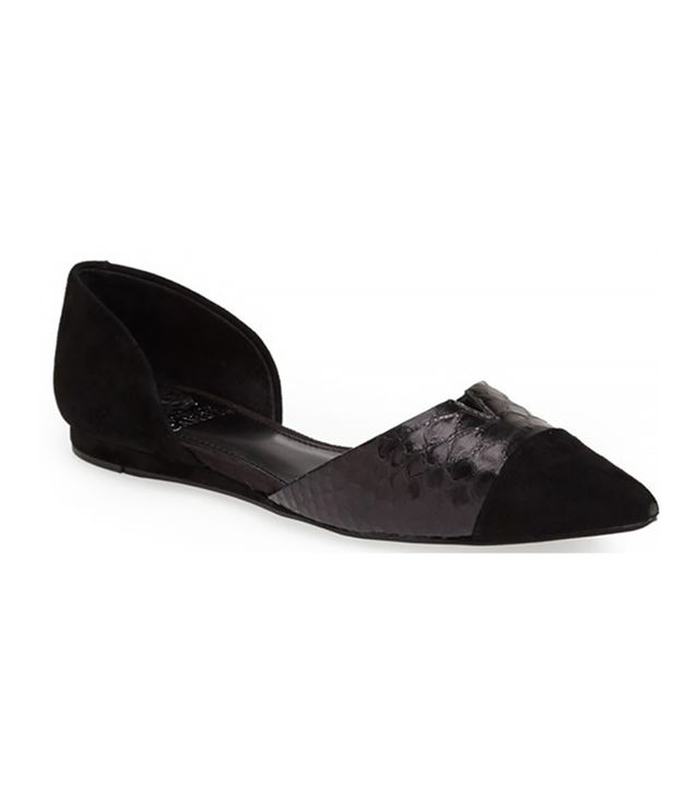 Vince Camuto Halia d'Orsay Pointy Toe Flat